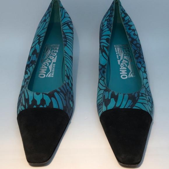 Salvatore Ferragamo Shoes - Vintage style Salvatore Ferragamo shoes